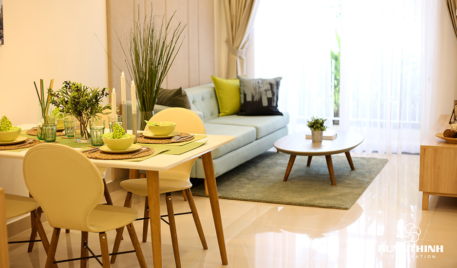 phòng khách lavita charm