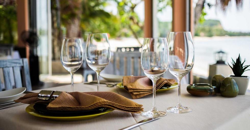 Khu nhà hàng sang trọng và đẳng cấp phục vụ mọi chủ nhân